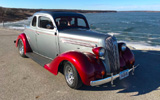 1936 Plymouth P1 Business Coupe By Dennis May - Update