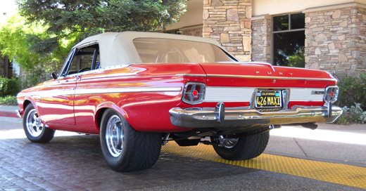 1963 Plymouth Fury convertible By Dave Thompson