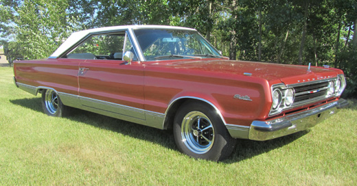 1967 Plymouth Satellite By Raymond O'Hara