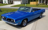 1969 Plymouth Barracuda Convertible By Bill Dollbaum