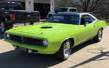 1970 Plymouth Cuda By Andrew Dicus