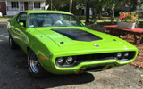 1972 Plymouth Road Runner GTX By Frolland Blanc