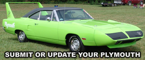 1970 Plymouth Superbird, photo from 2012 Mopar Nationals - Columbus, Ohio