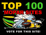Top 100 Mopar Sites - Vote for us!